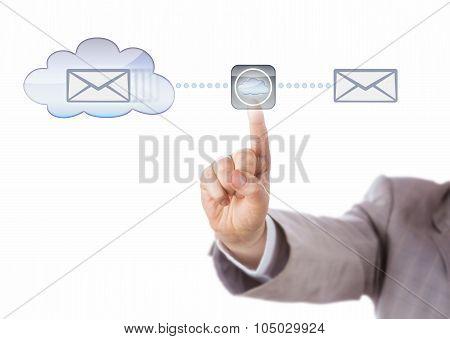 Hand Mirroring Data Via The Cloud