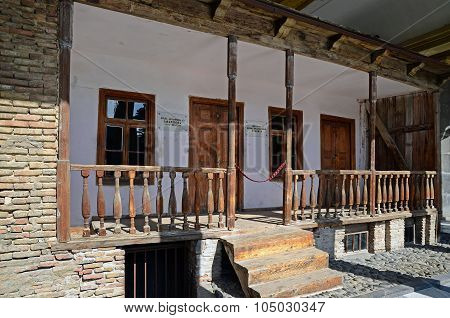 Gori, Georgia - March 4, 2015: House-museum Of Joseph Stalin In His Native Town Gori, Georgia