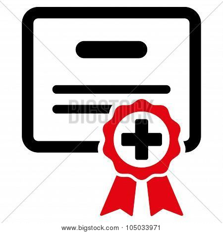 Medical Certificate Icon