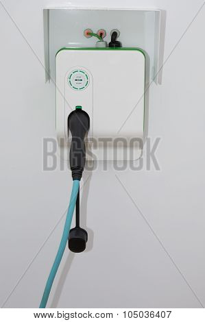 Electric Car Charging Point For Hybrid And Electric Cars
