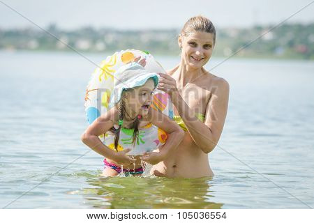 My Mother Pulled Her Daughter From The River For Swimming Circle