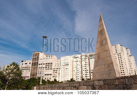 Pyramid Shape Monument