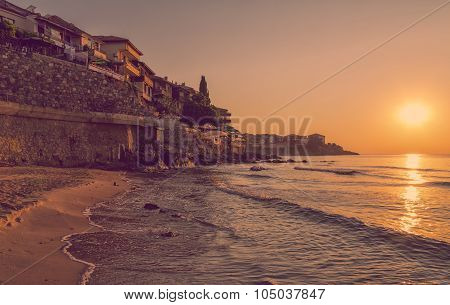 Sunrise In Sozopol, Bulgaria