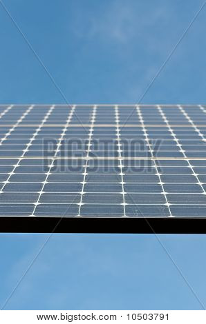 Closeup of a Solar Panel - Alternative Energy