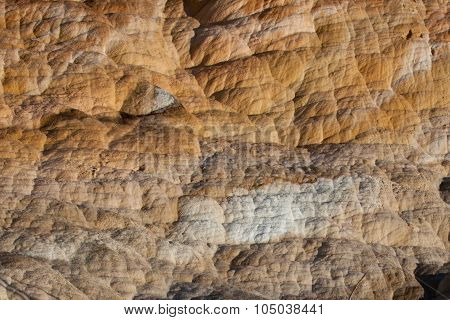 Mammoth Hot Springs Travertine Texture