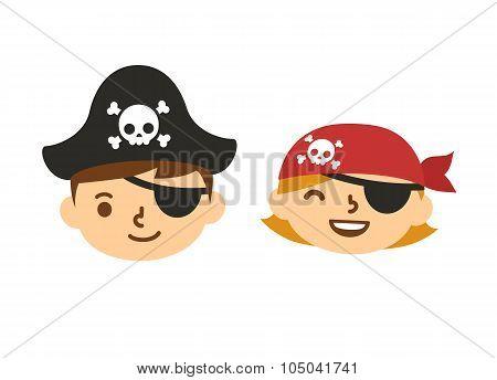 Cute Hildren Pirates
