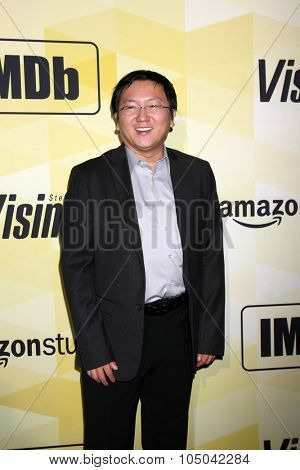 LOS ANGELES - OCT 15:  Masi Oka at the MDbâ??s 25th Anniversary Party at the Sunset Tower on October 15, 2015 in West Hollywood, CA