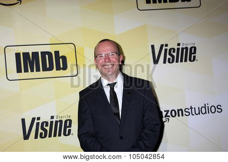 LOS ANGELES - OCT 15:  Col Needham at the IMDB's 25th Anniversary Party at the Sunset Tower on October 15, 2015 in West Hollywood, CA