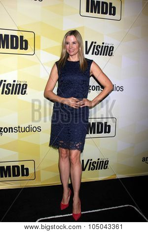 LOS ANGELES - OCT 15:  Mira Sorvino at the IMDB's 25th Anniversary Party at the Sunset Tower on October 15, 2015 in West Hollywood, CA