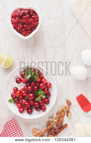 Cranberry strudel  ingredients