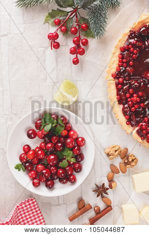 Baking with cranberries