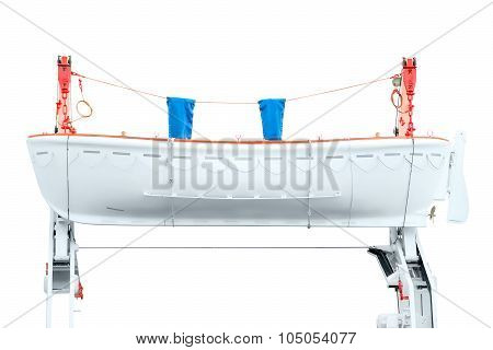 Lifeboat On The Davit