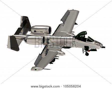 Military Jet Airplane Attak