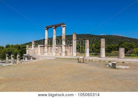 Ruins In Epidavros, Greece