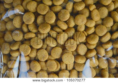 dog food packing in plastic bag for sale