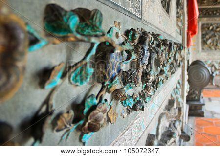 Exterior Ornaments Of A Temple