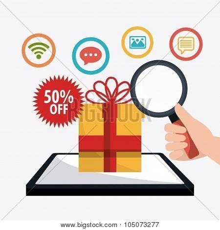 Shopping, ecommerce and marketing