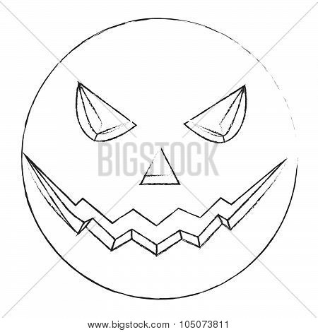 Halloween Evil Sketch