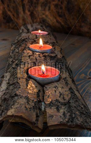 Burning Candlestick.