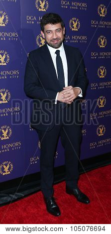 9NEW YORK-OCT 15: Director Alfonso Gomez Rejon attends the DGA Honors Gala 2015 at the DGA Theater on October 15, 2015 in New York City.