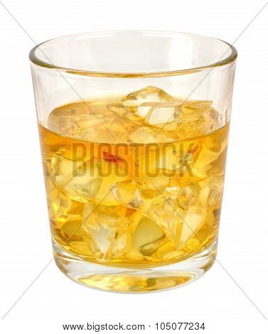 Whisky And Ice Drink