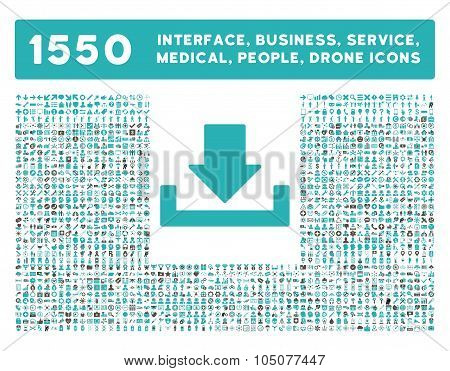 Download Icon and More Interface, Business, Tools, People, Medical, Awards Flat Glyph Icons
