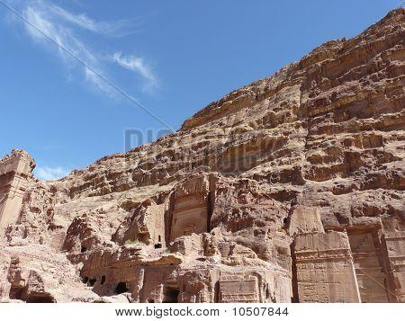 The Treasury From The Siq, Petra, Jordan