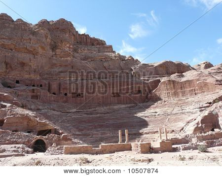 The Treasury From The Siq, Petra, Jordan
