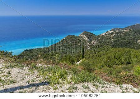 Lefkada Landscape, Ionian Islands