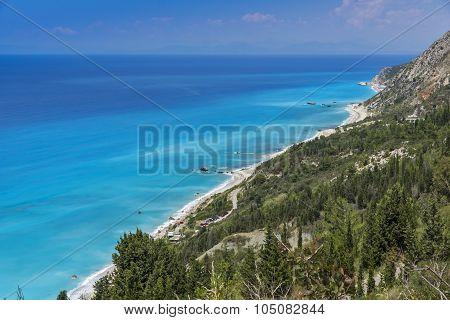 Kalamitsi Beach, Lefkada, Ionian Islands