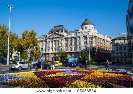 The Gresham palace in Budapest