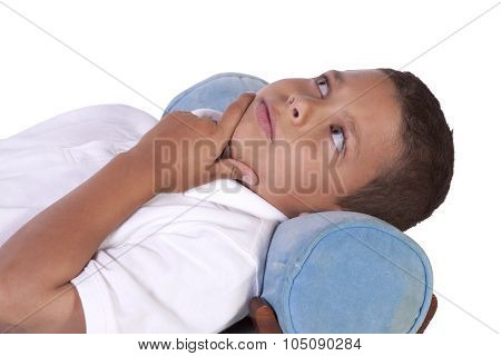 Cure Preteen Boy On The Couch