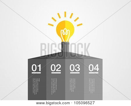 abstract infographic vector template
