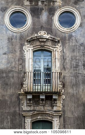 Old Window In Catania, Italy