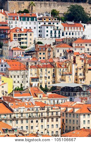 Lisbon Historical City Close Up, Portugal