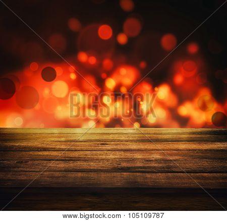 Festive Bokeh Background