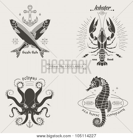 Fish Labels