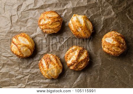 Puff Pastry On Baking Paper