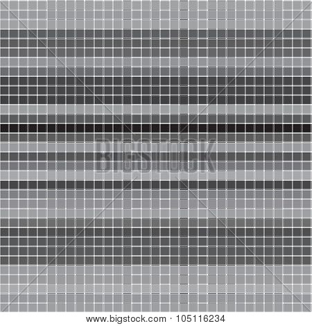 Vector Seamless Pattern With Checkered Texture. Abstract Gray Backdrop. Geometrical Background.