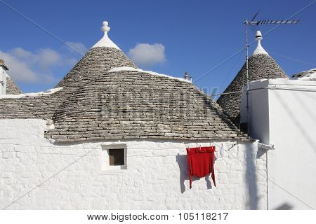 Trulli house of Alberobello