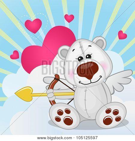 Cupid Polar Bear