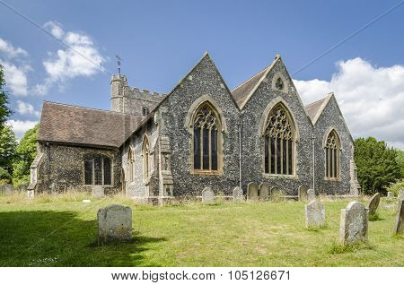Chilham Church, Kent, Uk