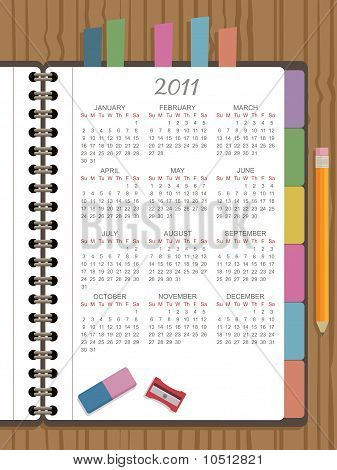 Calendario para 2011