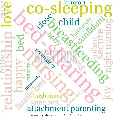 Bed-sharing Word Cloud