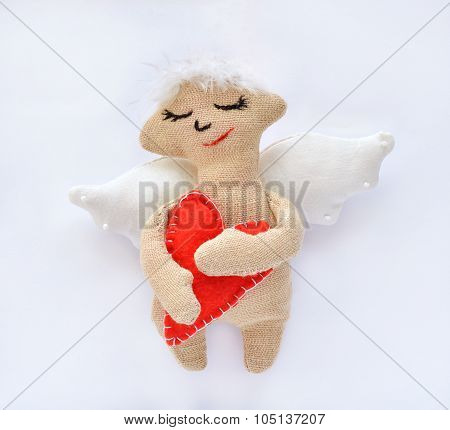An Angel Is A Soft Toy