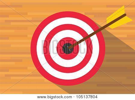 goals target board bullseye