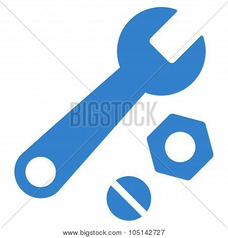 Wrench And Nuts Icon