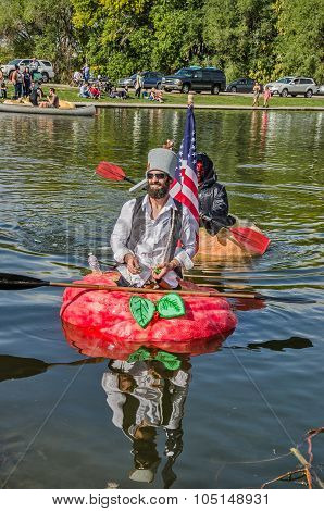5Th Annual Ginormous Pumpkin Regatta 2015 81258