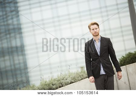 Young Businessman Outdoor