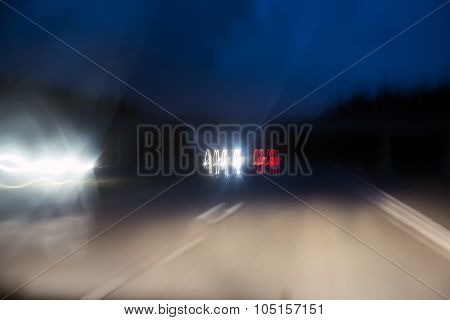 Highway Motion Blur